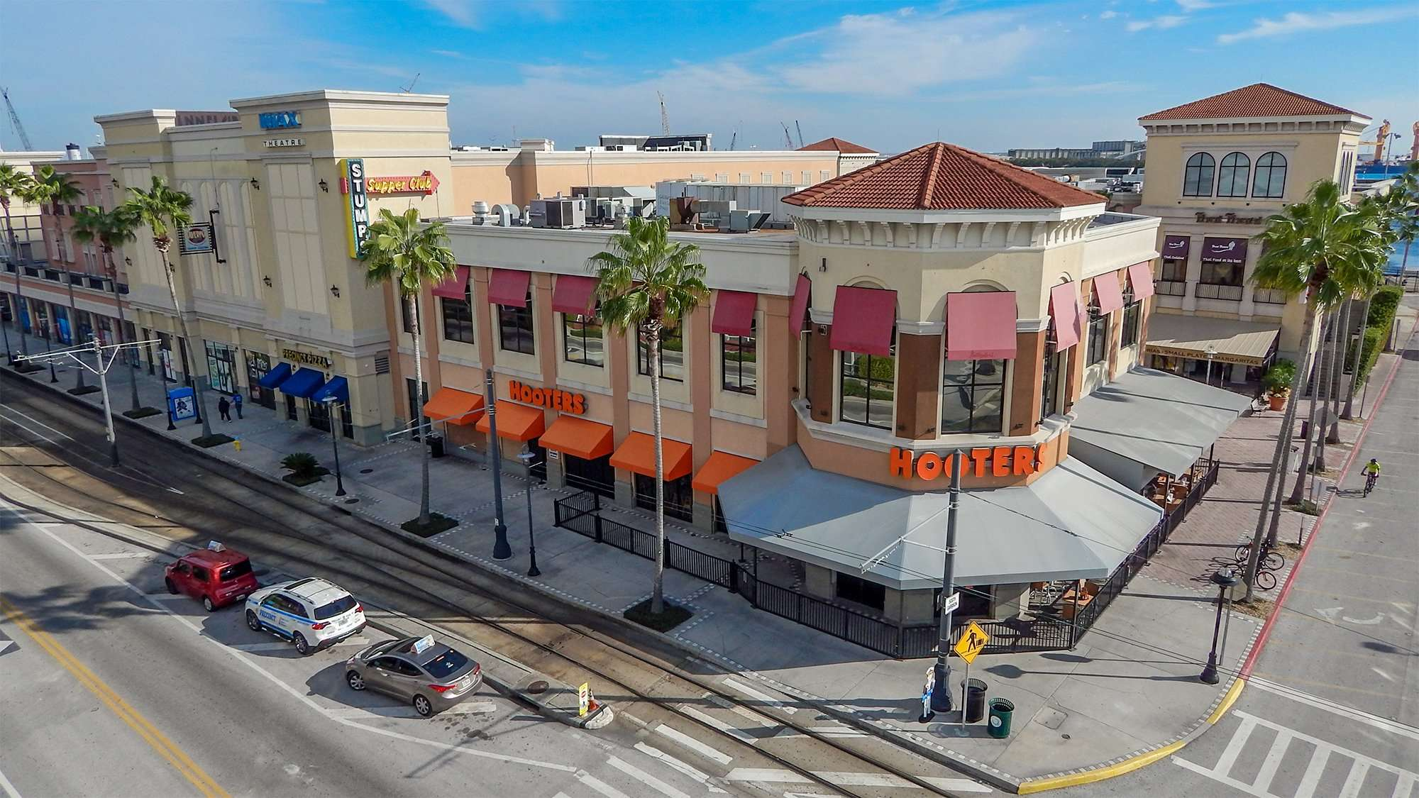 Channelside Bay Plaza Upscale Strip Mall With A View