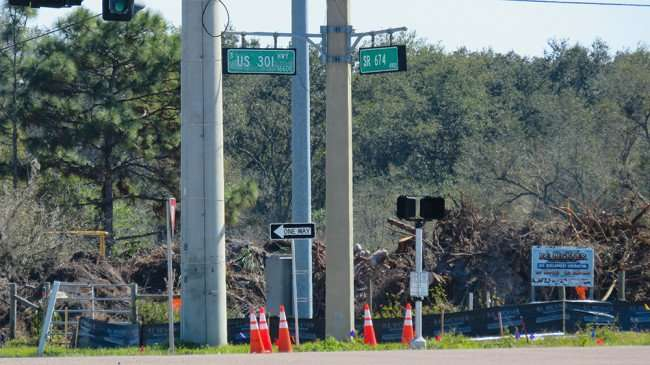 Feb 13, 2016 - Land being cleared for Wawa by RE Beckner at corner of 301 and 674, Wimauma SouthShore, FL/photonews247.com