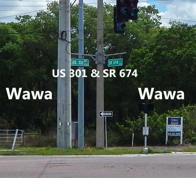 Mar 13, 2015 - WAWA coming to Wimauma, FL at intersection of US 301 and SR 674/photonews247.com