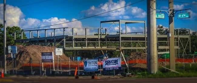 Oct 9, 2016 - Wawa Construction US-301 and FL-674, Sun City Center, Wimauma South Shore, FL/photonews247.com