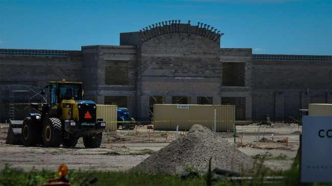 April 10, 2016 - Publix under construction at 301 and Symmes Rd, Riverview Southshore, FL/photonews247.com