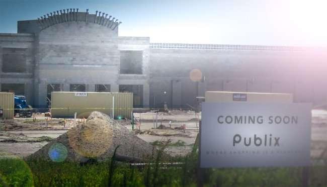 April 10, 2016 - Publix under construction on Hwy 301 and Symmes Rd, Southshore, Riverview, FL/photonews247.com