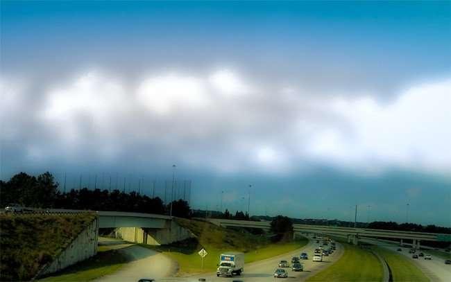 NOV 1, 2015 - TopGolf Tampa from Causeway Bridge/photonews247.com