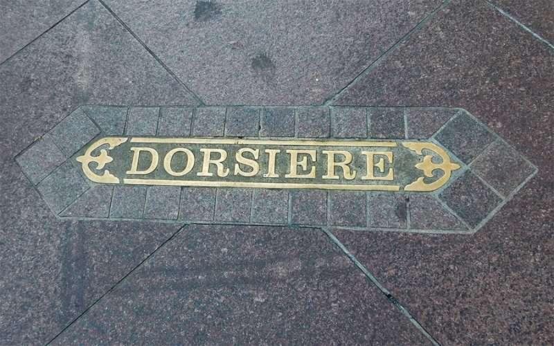 Street Names Embedded On Sidewalks In New Orleans Photo