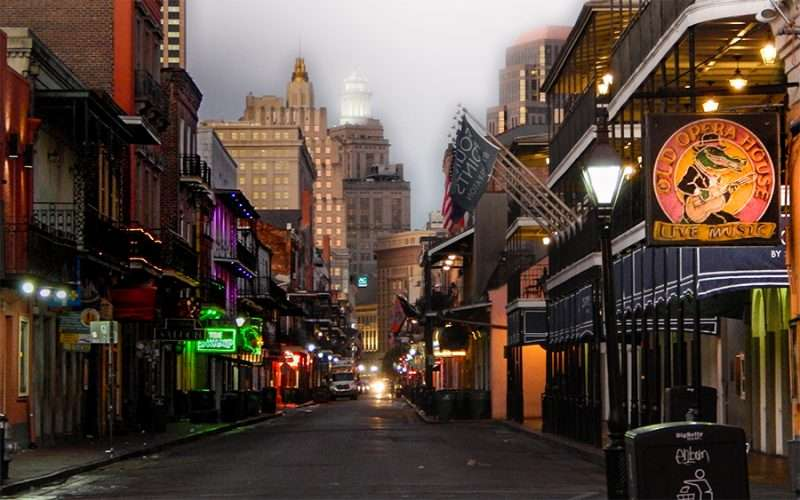 Historic Bourbon St Waking Up In New Orleans Photo News 247