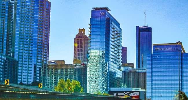 Atlanta Skyline And Skyscrapers Photo News 247