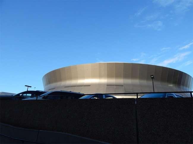 Mercedes benz superdome timeline new orleans photo news 247 for Parking at mercedes benz superdome