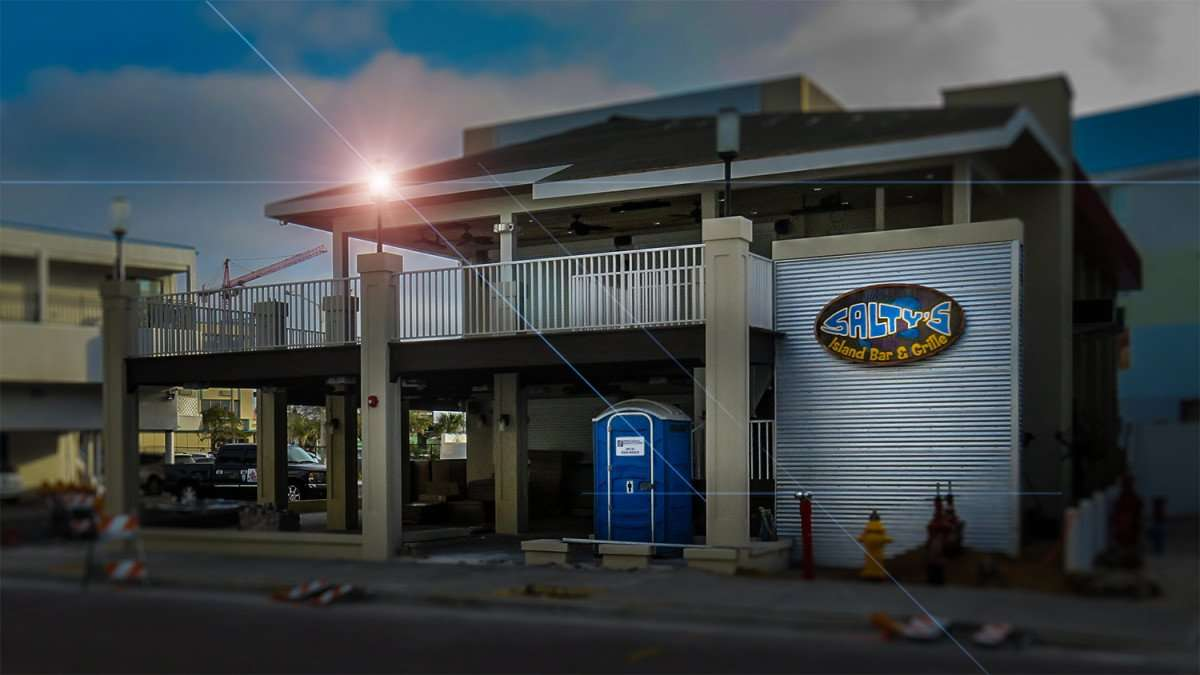 Salty S Island Bar Grille Clearwater Fl