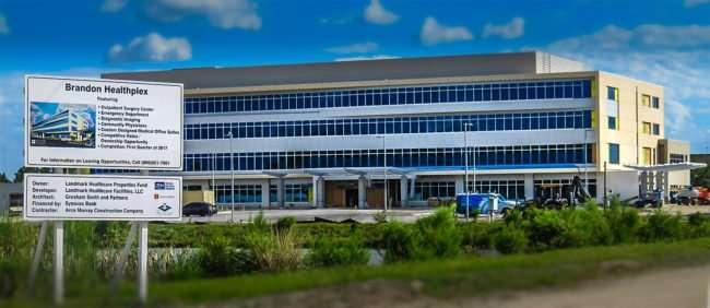 10.13.2016 - Brandon Healthplex outside structure completed, Brandon Tampa, FL/photonews247.com