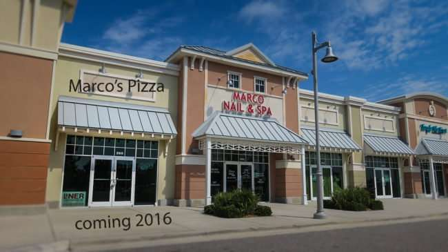 April 14, 2016 - Marco's Pizza, 260 Harbor Lane, Apollo Beach coming 2016/photonews247.com