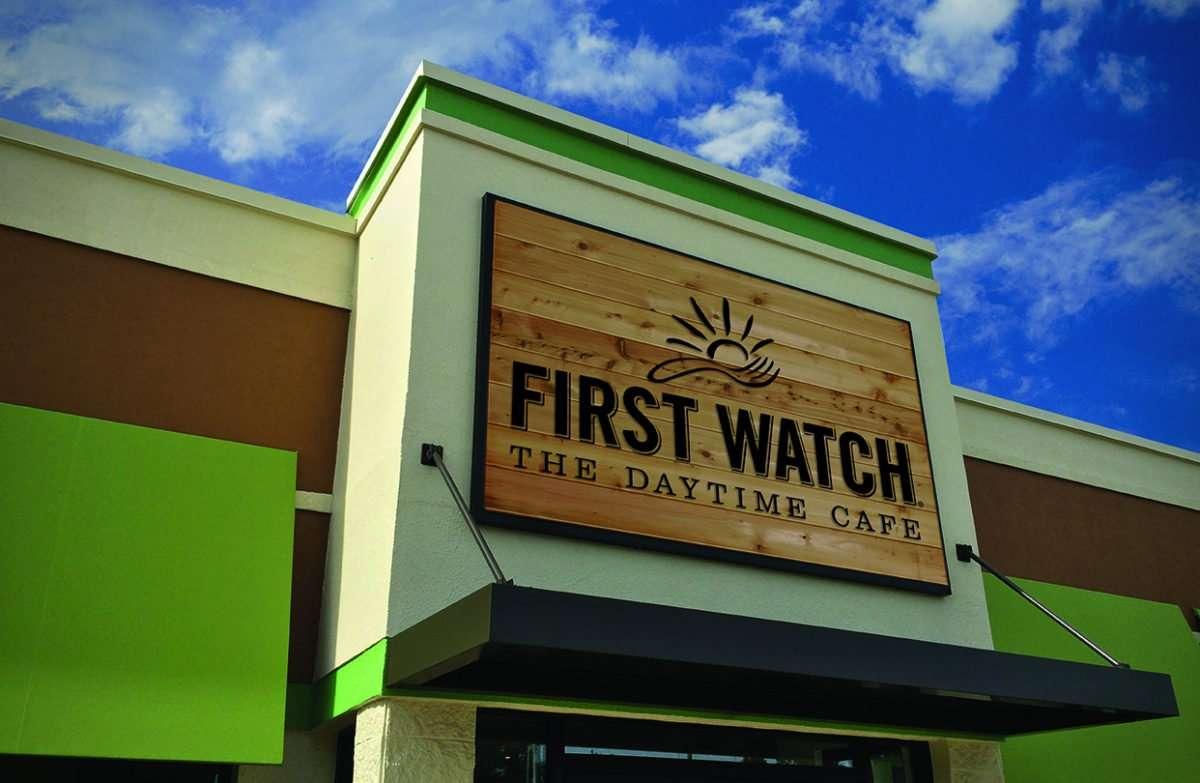 First Watch Restaurant Tampa Menu