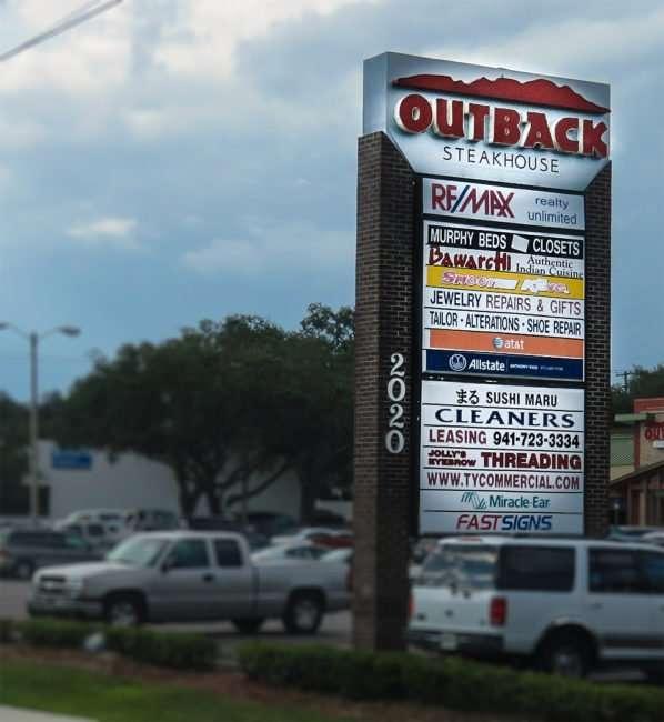 10.16.2016 - OutBack Steakhouse stripmall at 2020 Brandon Blvd, Brandon, FL/photonews247.com