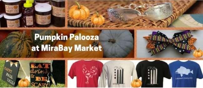 Pumpkin Palooza at MiraBay Market Apollo Beach, F/photo credit from facebook.com/MiraBayMarket/