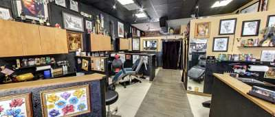 1603 Tattoo Parlor on 7th St in Ybor City Tampa/2014 copyright Google