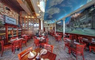 ACROPOLIS Greek Tavern waitress, 7th Ave, Ybor City/Copyright 2014 Google