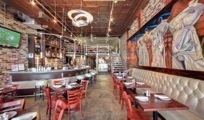 Acropolis Greek Taverna inside bar area Tampa, FL/Copyright 2014 Google