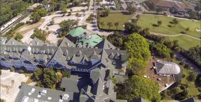 Belleview Biltmore Hotel Resort and Spa from drone/capture from youtube.com/belleairimages