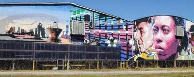 Nov. 15, 2014 - Adamo Drive Mural in Tampa FL