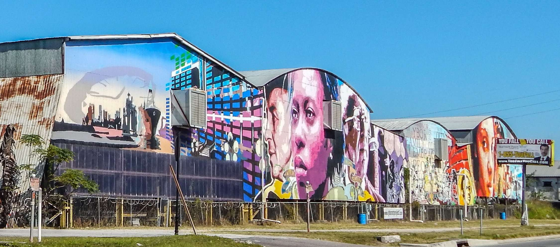 Biggest mural in florida photo news 247 for City of tampa mural