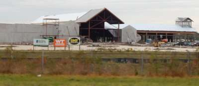 NOV 18, 2014 - Construction site of the Brandon Bass Pro Shop on Highway 75 across from Brandon Mall