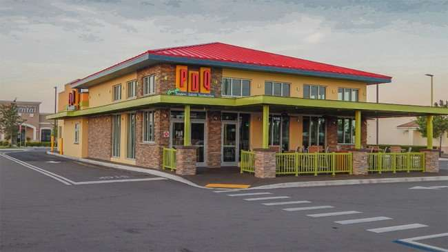 MAY 15, 2015 - PDQ building morning on Big Bend and 301