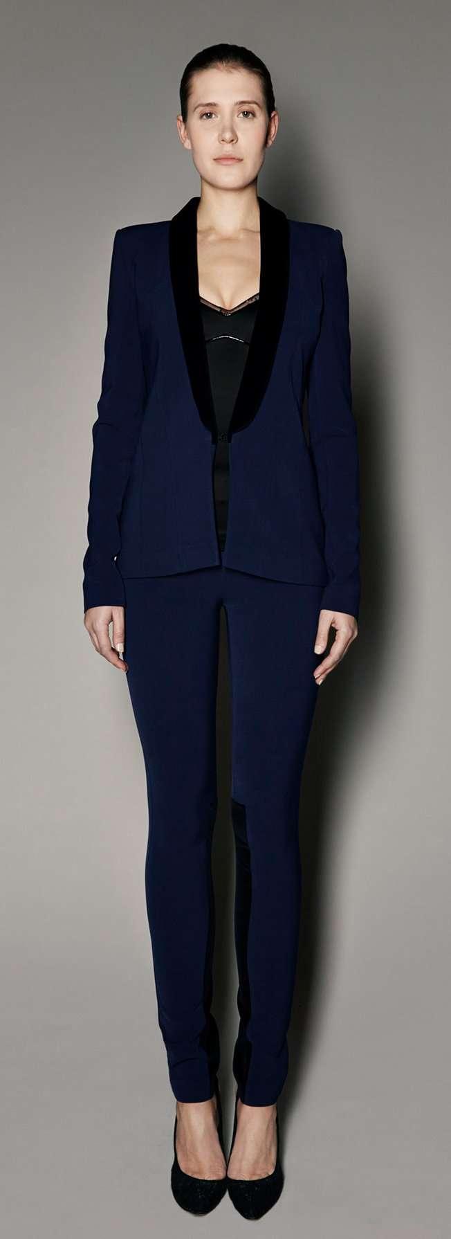 SAFiYAA AW14-15 Arcadia Trouser Suit/safiyaa.com