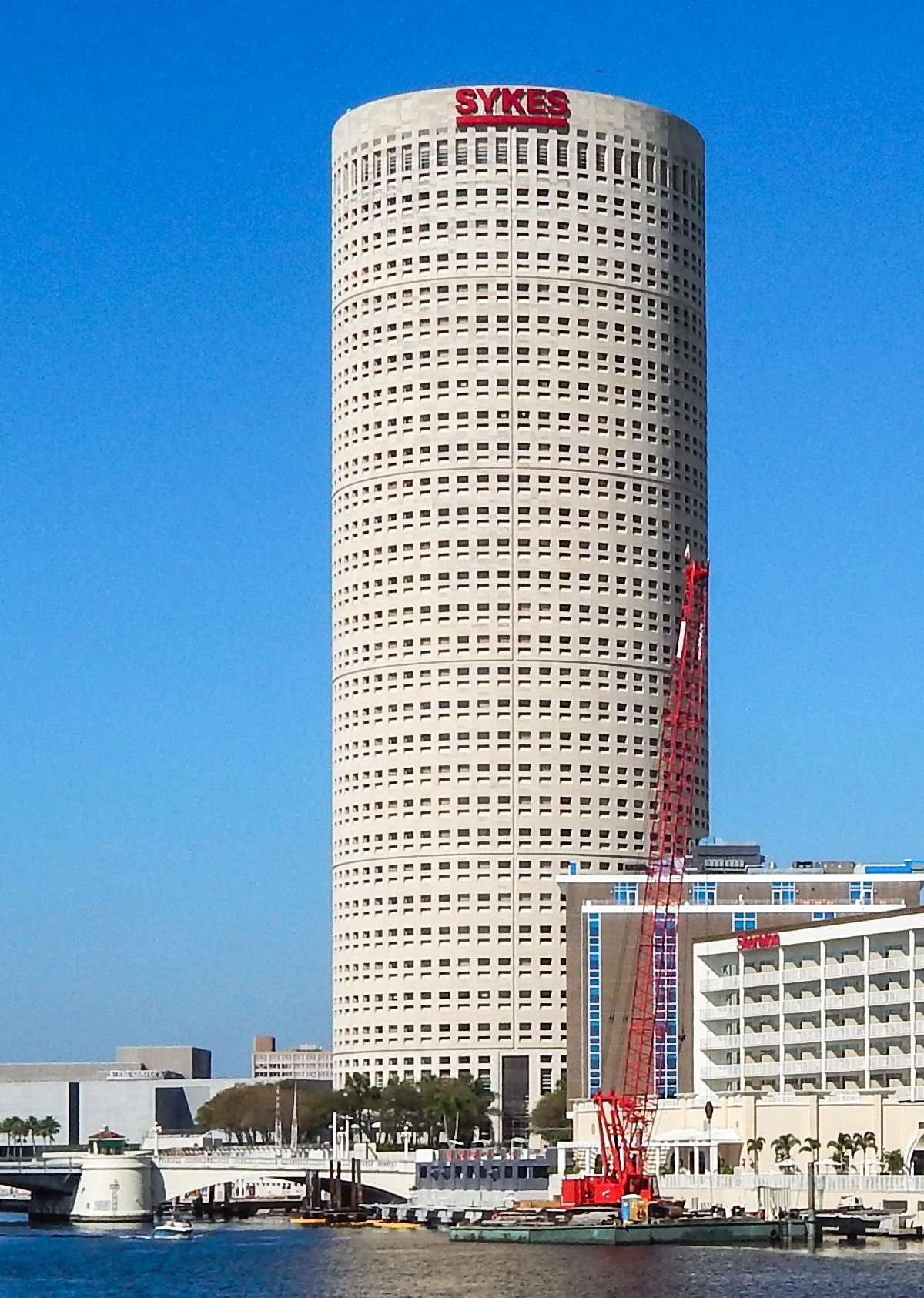 November 16, 2014: SYKES Tower building in Tampa, FL (credit Staff/photonews247.com)