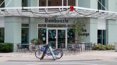 DEC 2015 - Bamboozle Tea Lounge on ground level at The Place apartment community in Tampa's Channel District/photonews247.com