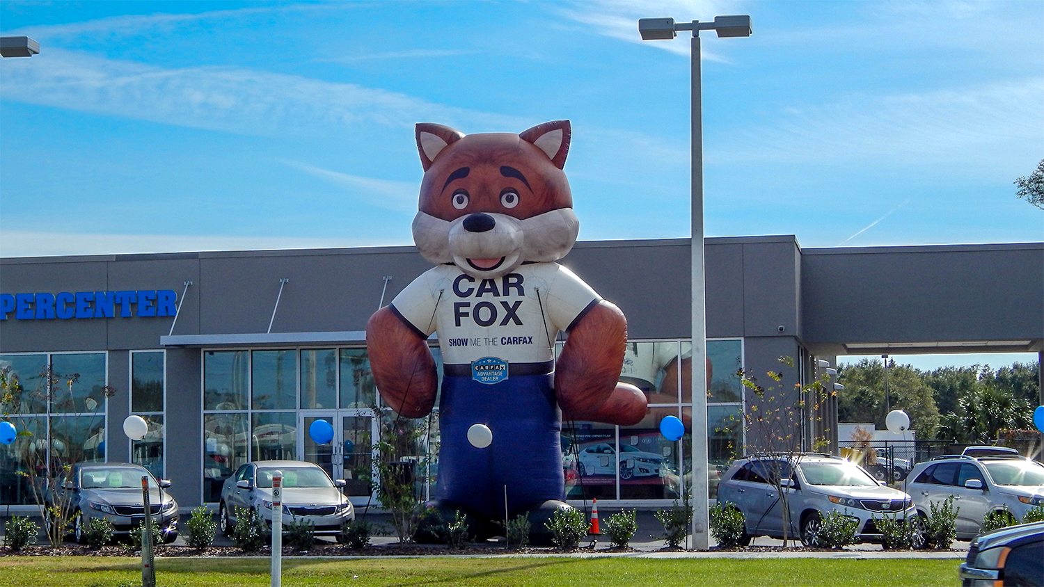 CAR FOX Says Get Car Fax Before Buying At Kia Supercenter