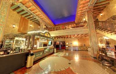 Cenfection stand area at the historic Tampa Theatre/Image Capture 2014 copyright Google