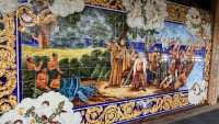 Columbia Restaurant building with painted tile artwork 7th Ave in Ybor City/Photo News 247