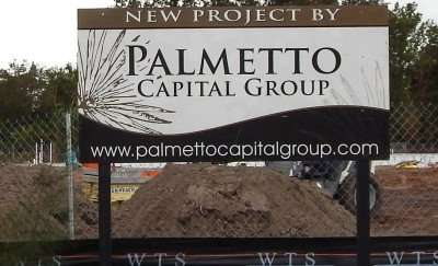 Dec 24, 2014: Palmetto Construction Company building Dollar General on 21 Street and College Avenue in Ruskin, FL/photonews247.com