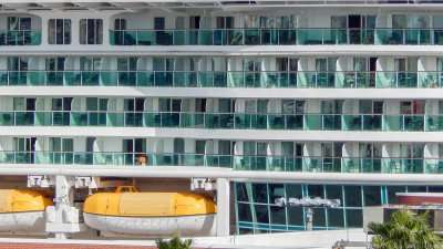 MS Brilliance of the Seas Cruise look like a floating Hilton Hotel docked at Terminal 3, Tampa, FL/photonews247.com