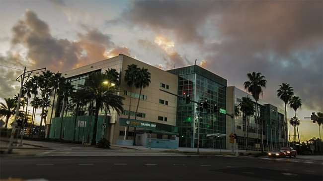 DEC 13, 2015 - Port Tampa Bay building on Channelside Drive in Tampa, FL/photonews247.com