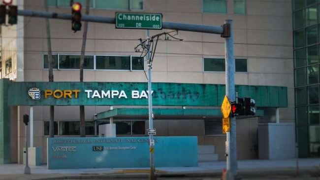 April 10, 2016 - Port Tampa Bay on Channelside Drive/photonews247.com