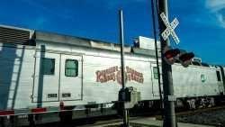 Ringling Bros Circus Trains rolls into Tampa, Florida on December 28, 2014/photonews247.com