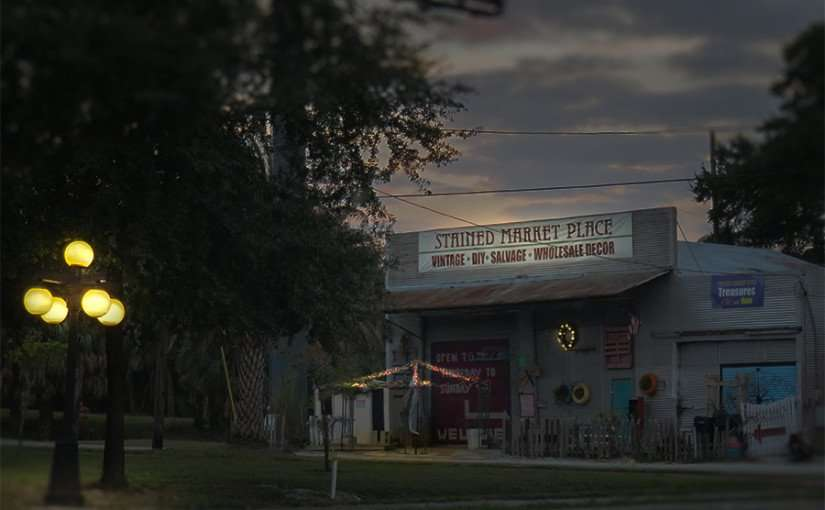 DEC 6, 2015 - Stained Market Place Vintage Goods Tampa, FL