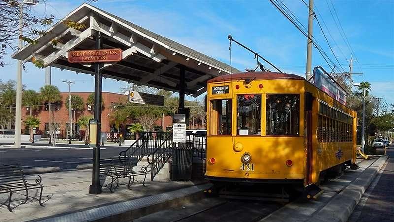 TECO Streetcar 431 in Tampa, FL