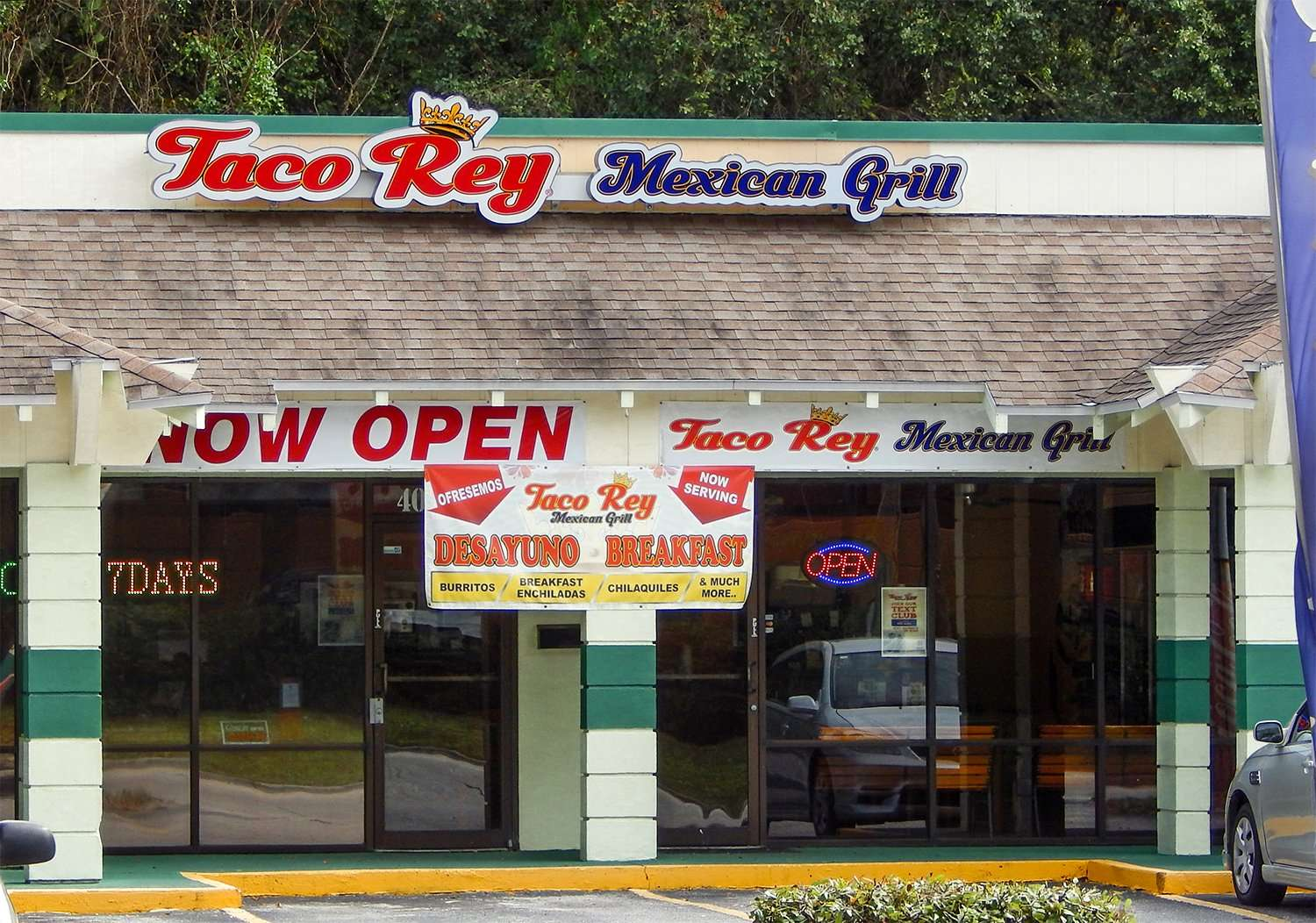 Taco Rey Mexican Grille Grand Opening Serving Authentic Food In Brandon Fl Photonews247