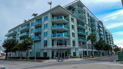 DEC 31, 2014 - The Place, an urban apartment complex in Tampa's Channel District/photonews247.com