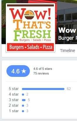 Wow Thats Fresh Restaurant Brandon 4.6 of 5 stars from 75 reviews Dec 1 2014