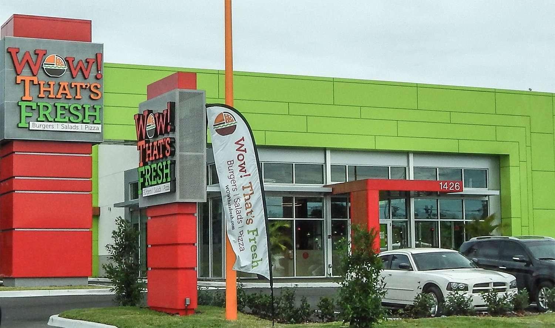 Wow! That's Fresh Restaurant in Brandon FL