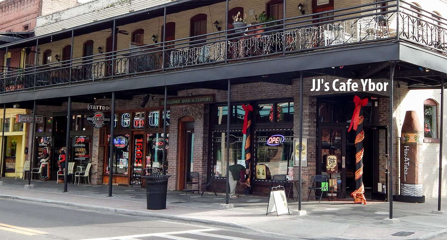 J J's Cafe and Bar on 7th Ave and 16th Street in Ybor City Tampa, FL/photonews247.com