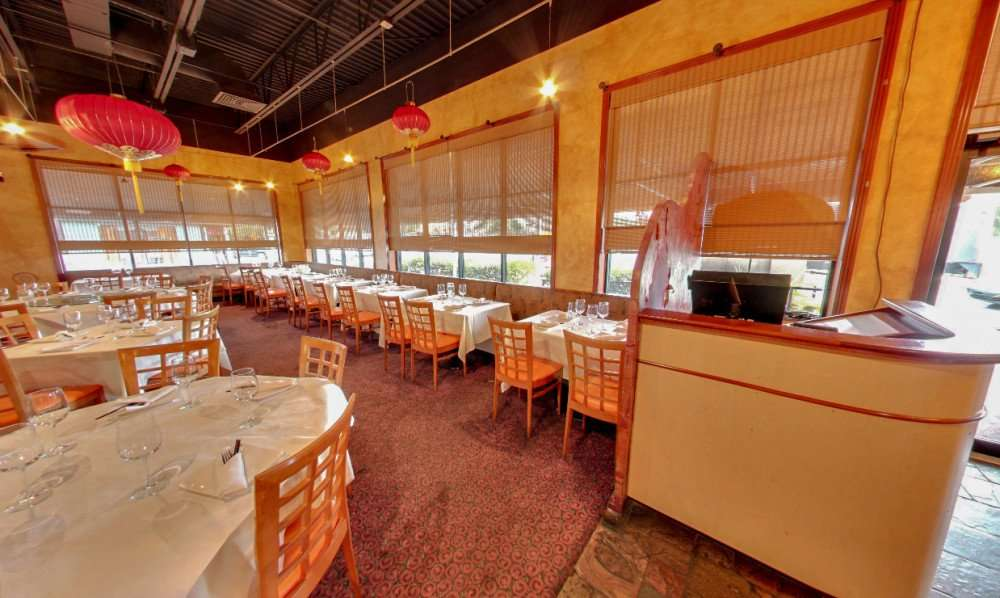 Photo 2: Dining room of TC Choys Bistro Chinese Restaurant in SoHo District of the Hyde Park neighborhood, Tampa, FL/copyright 2014 Google