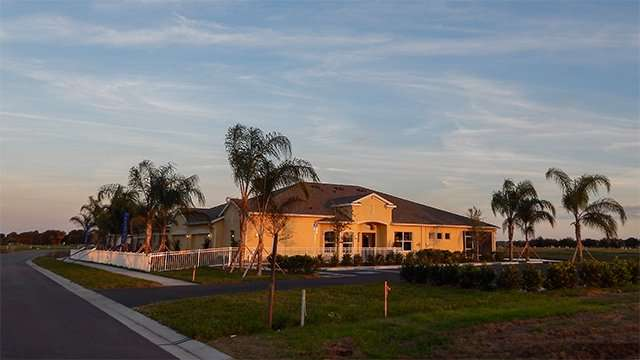 Duplexes in the VERONA Renaissance gated community in Sun City Center, FL
