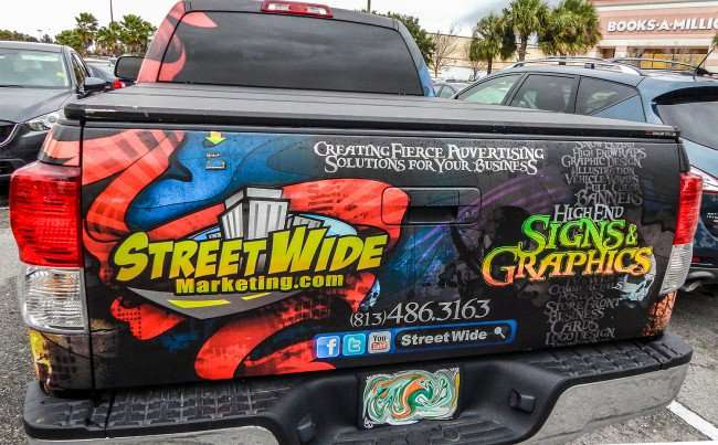 High End Signs and Graphics, logos, storefront signs by Streetwide Marketing, Tampa Bay area