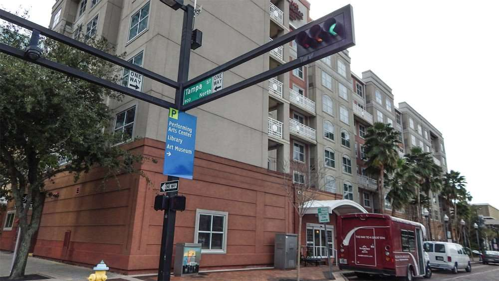 Marriott Residence Inn Downtown Florida on Tampa ST and Ashley
