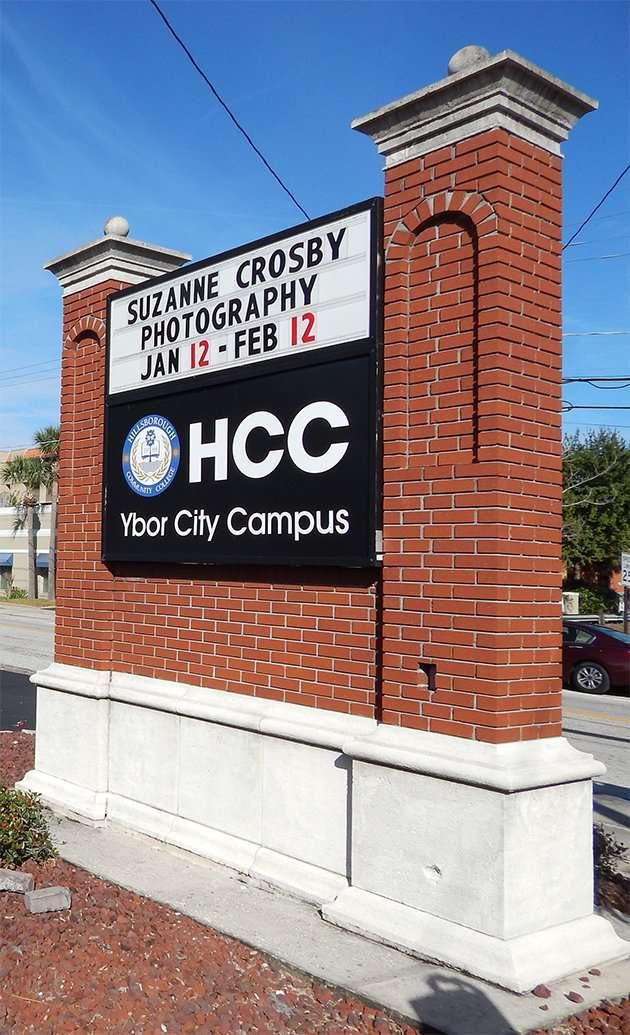 Suzanne Crosby Photography Art Display HCC Ybor City Campus