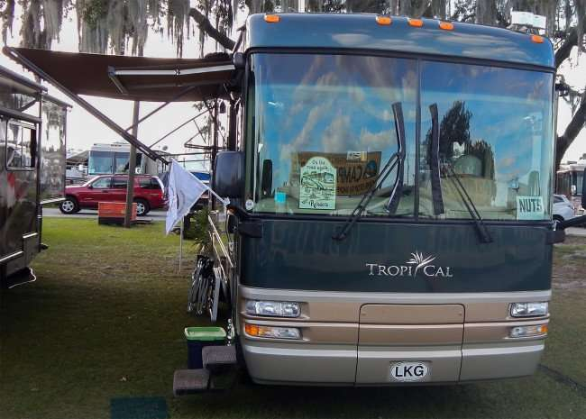 TROPI CAL RV from the NUTS Club at SuperShow 2015, Florida State Fairgrounds/2015 photonews247.co9m