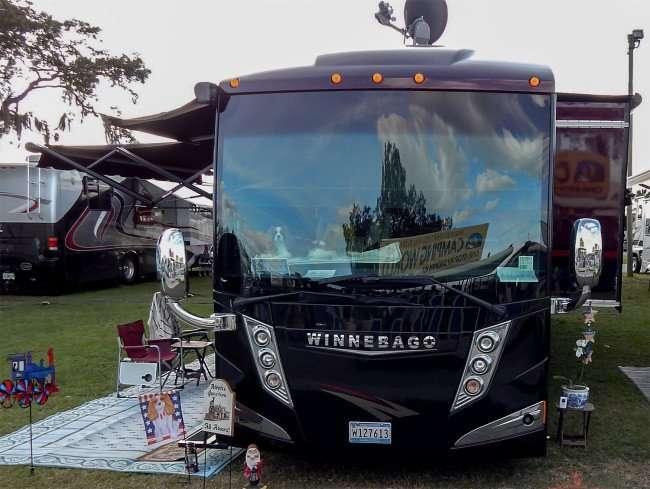 WINNEBAGO RV Motorhome at RV SuperShow 2015, Florida State Fairgrounds/2015 photonews247.com